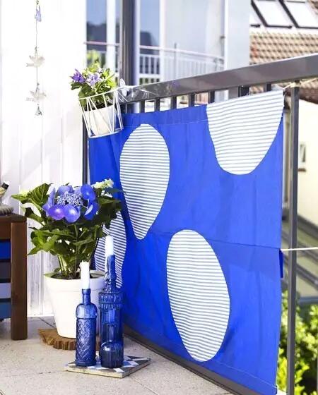 阳台植物摆放效果图