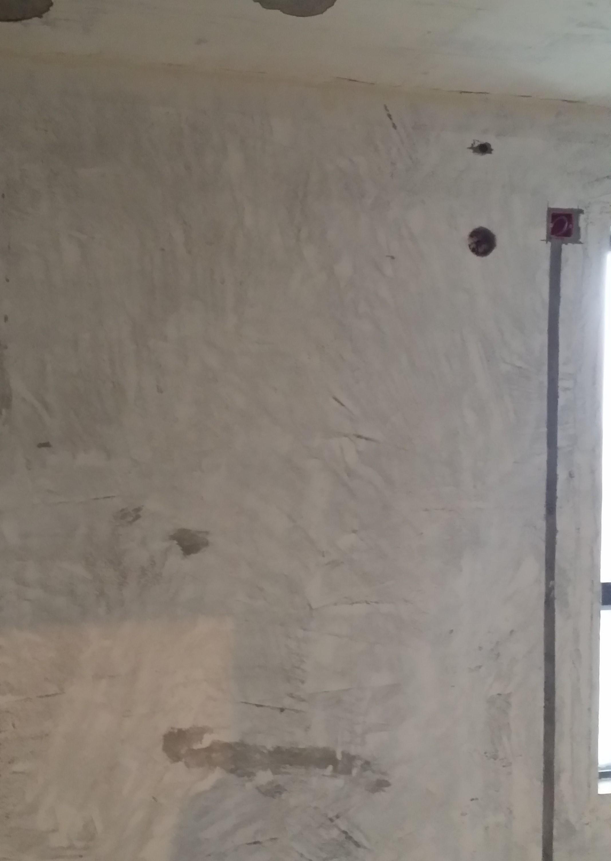 铲墙是否合格?