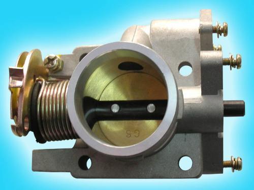 1,拆卸发动机节气阀模块.