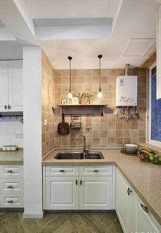 95平宜家风格装修厨房设计