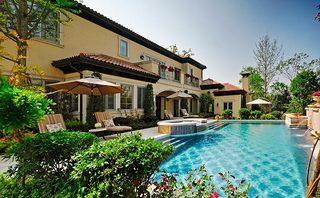 庭院游泳池设计布置图