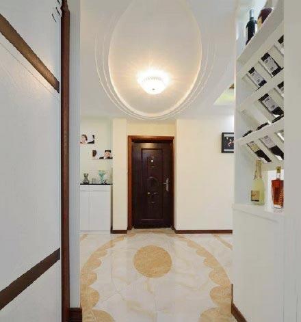 43平米小户型空间玄关设计