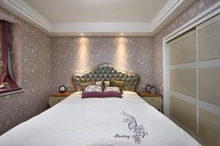 130平绝美欧式风格装修欧式卧室