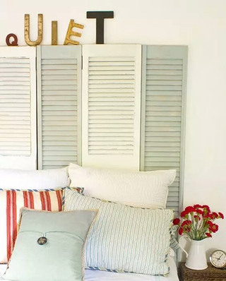 """10个卧室床头设计图片 去访""""变态""""环保家2/10"""