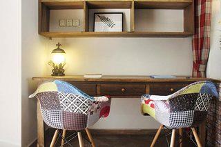 双人小书房装修平面图