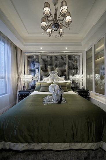 奢华简欧风格卧室效果图