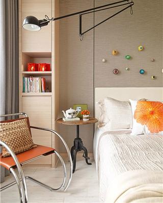 现代简约小别墅卧室壁灯图