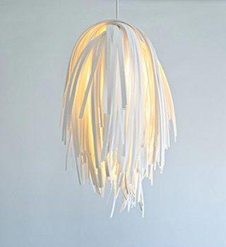布艺创意灯具摆放图片