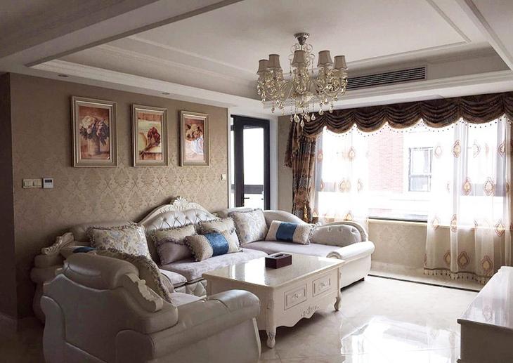 奢华欧式新古典客厅效果图