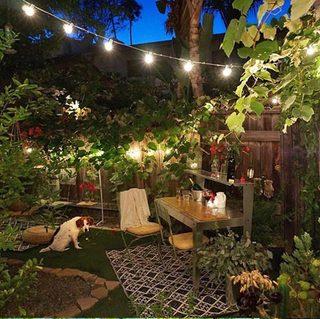 花园餐厅装饰图片大全