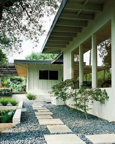 日式风格庭院装修装饰图