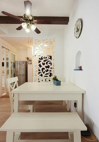 清新地中海装修餐厅效果图