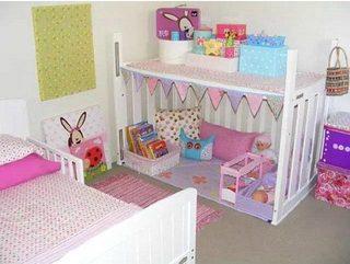 婴儿床改造收纳柜图片大全