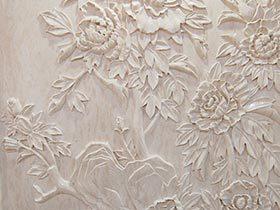 墙壁上的蔷薇  10图墙壁雕花设计参考图