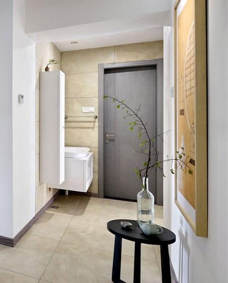 155平简约风格四居室门厅装修图