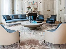 10个国外客厅装修效果图 让优雅点亮家