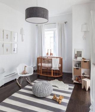 温馨婴儿房装修效果图