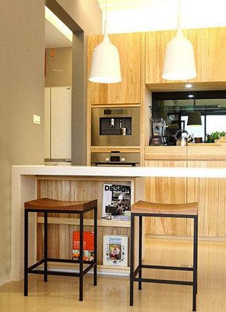 家庭厨房吧台图片大全