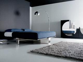 极简风格卧室设计实景图