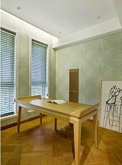 98㎡日式风格书房装修图