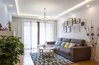 98平北欧宜家风格两室两厅装修