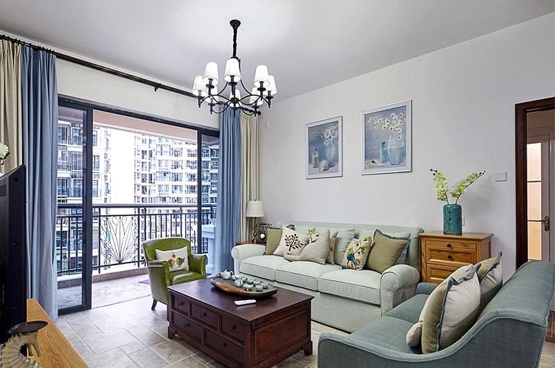 优雅美式客厅装饰欣赏
