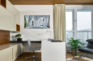 250平简约公寓小书房设计
