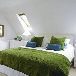 阁楼卧室设计布置效果图