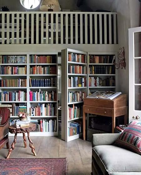 书架隐形门装修实景图