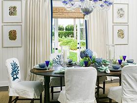 享受自然美餐  10款绿植餐厅装饰图片