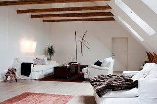 阁楼小客厅装修装饰效果图