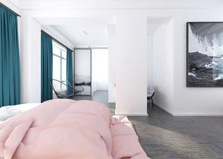 480平混搭风格卧室装潢图