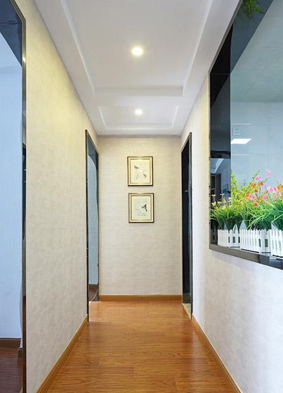 90㎡两室一厅走廊装修效果图
