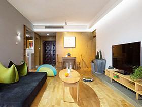 130平现代简约三室两厅装修 原木本色生活