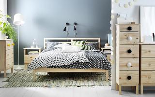 宜家床装修装饰效果图