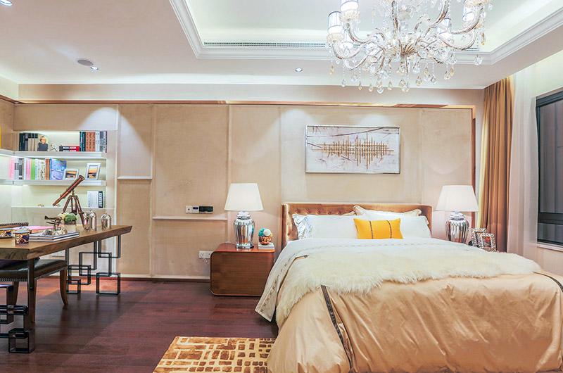 小户型联排别墅老人房卧室设计