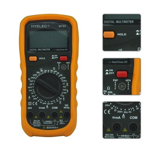 万用电表测量电容方法有很多