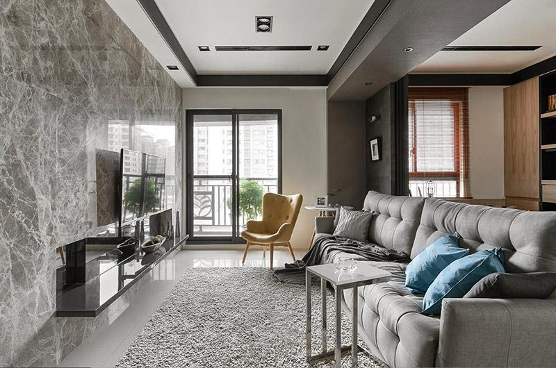 90平现代简约风格样板房装修