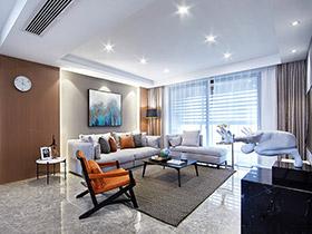 时尚新中式公寓实景图 唯美雅致主义