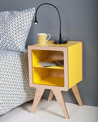 可爱卧室床头柜设计图