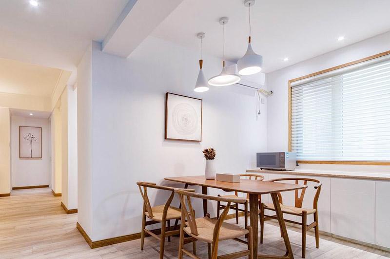 120平北欧三居室餐厅装修设计