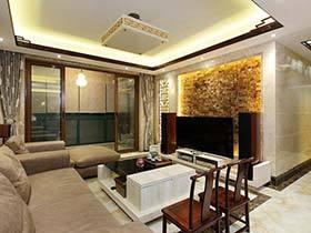 145平米两居室装修效果图  穿越大现代的家