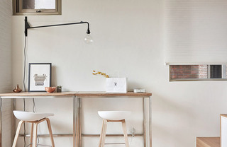 19平超小公寓餐厅壁灯效果图