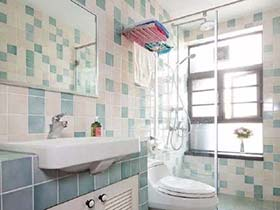 5款地中海风情砖砌洗手台设计图