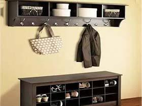 不规矩的进门惊喜  13款鞋柜装修布置图片