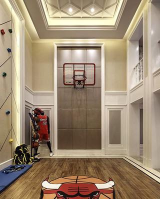 335平法式别墅健身房装修设计