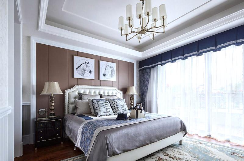 335平法式别墅主卧室装修
