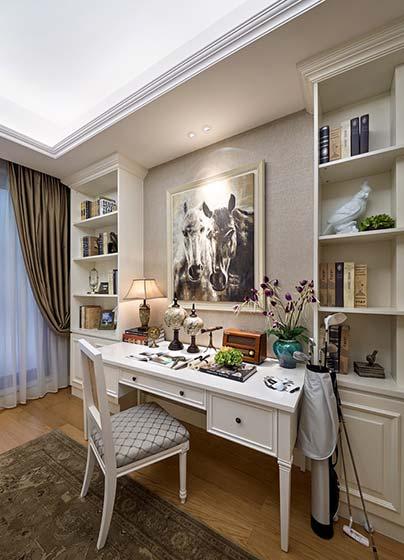 242㎡法式三居室书房图片大全
