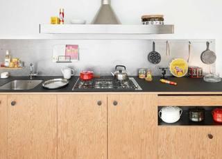 开放式厨房欣赏图片