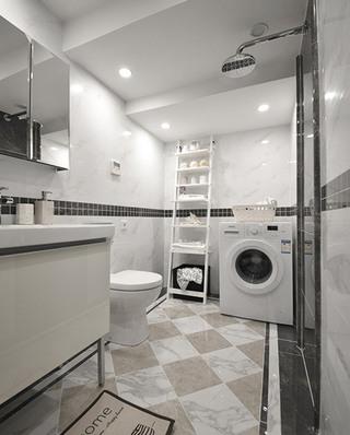 31平挑高两居室主卫生间装潢图